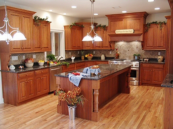 Custom Kitchen from Leinster Woodcraft.